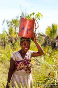 Eden Reforestation Project woman worker in Madagascar