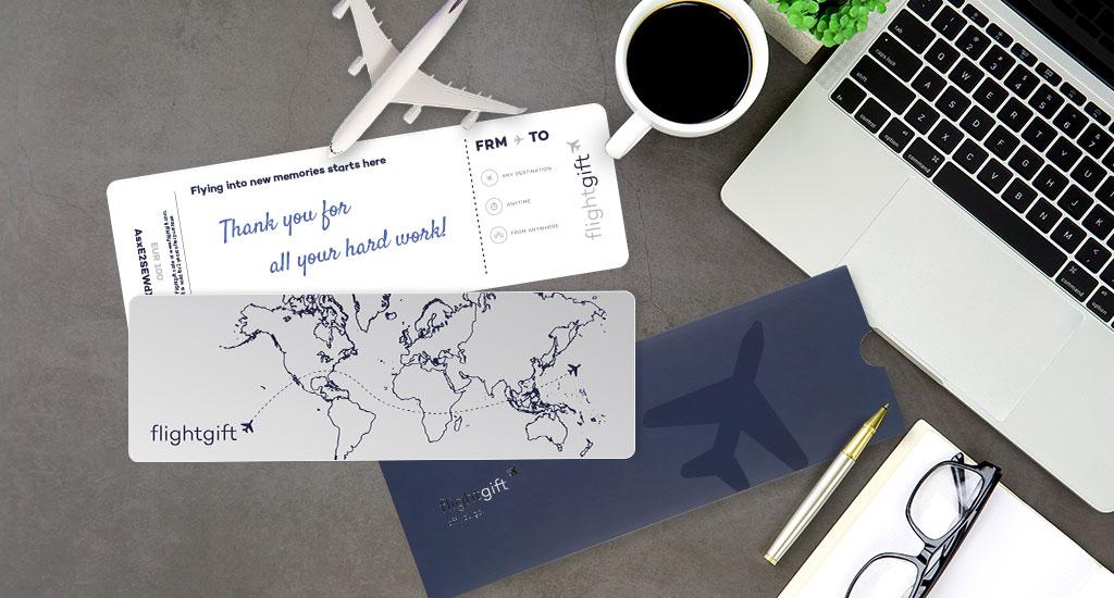 Flightgift corporate gift scene